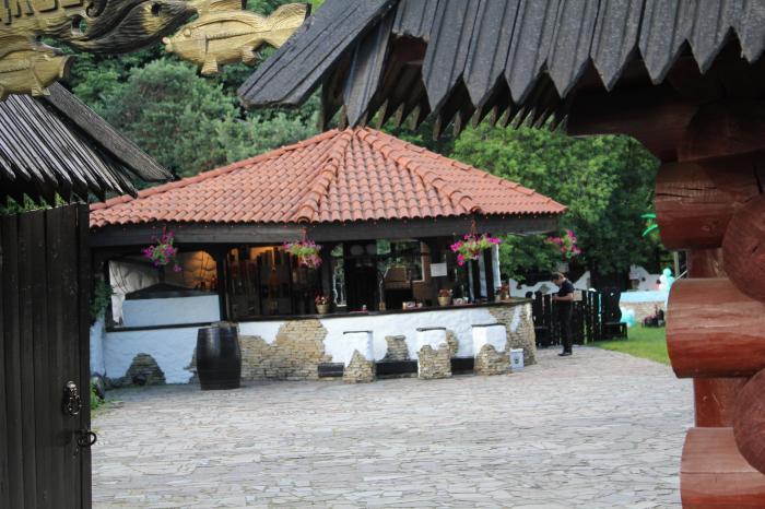 рыбный ресторан рыбацкая деревня