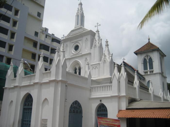 Image result for ईसाई कैथेड्रल thiruvananthapuram