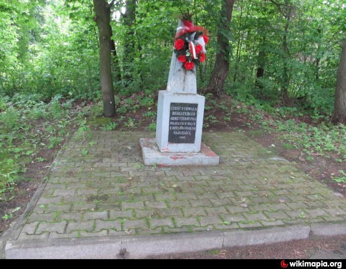 Pomnik Żołnierzy Armii Czerwonej w Dąbrowie Górniczej (Łęka)