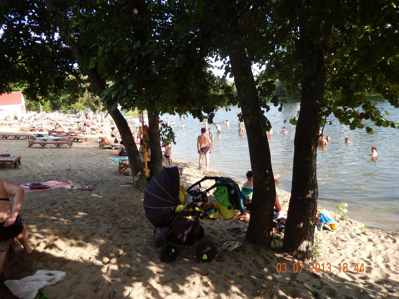 Городской пляж в курске фото
