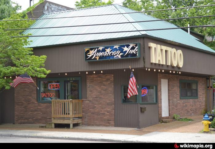 American ink tattoo gatlinburg tennessee for Tattoo shops in tennessee