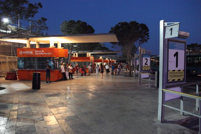 Floriana bus terminus