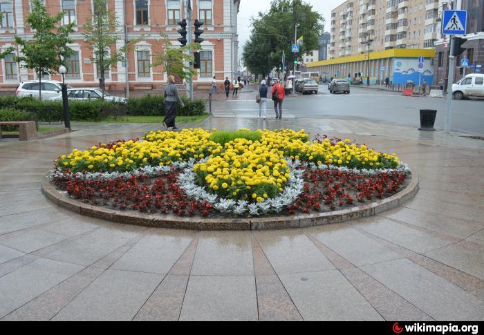 Город клумбы