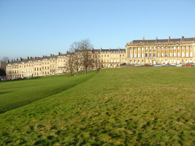 Royal Crescent Bath Listed Buildings