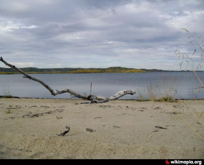 Щук озеро североморск само озеро видео