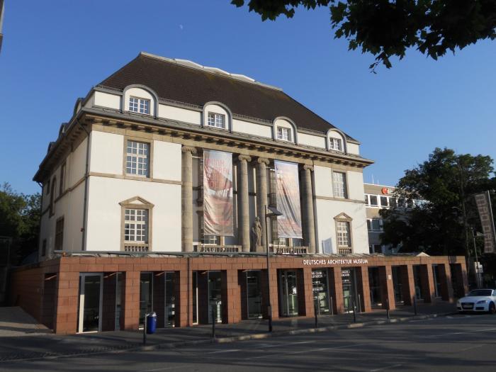 German architecture museum frankfurt am main for Frankfurt architekturmuseum