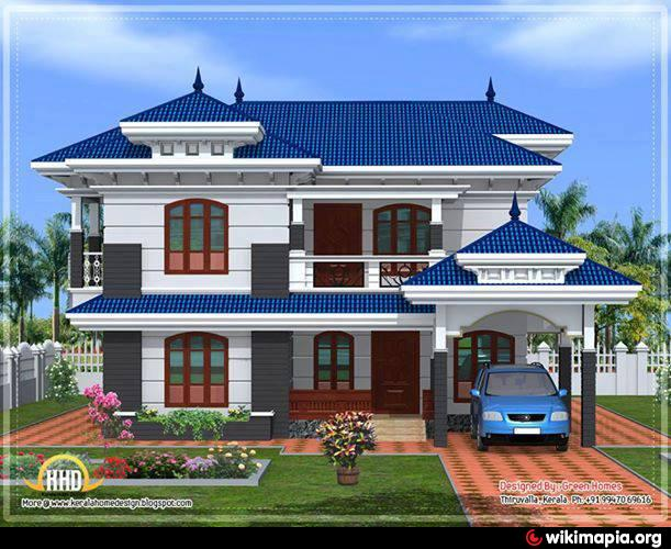 Jhapa district - Beautiful front designs of homes ...