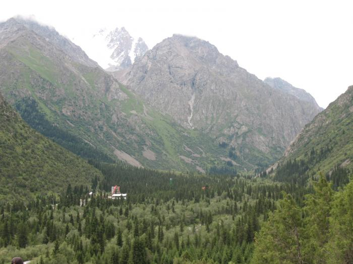 Альпенистический лагерь ала арча