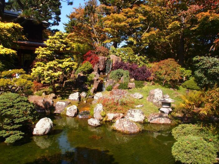 Japanese Tea Garden San Francisco California
