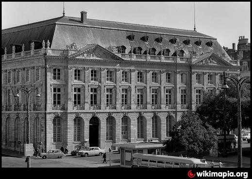 Palais de la bourse bordeaux - Chambre des commerces de bordeaux ...