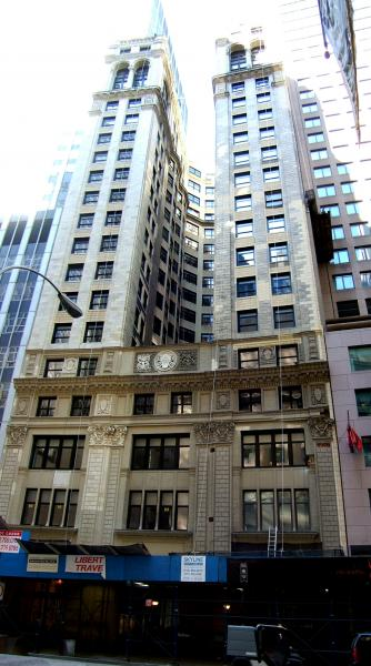 Single Floor Elevation Jersey : Broad street new york city office building
