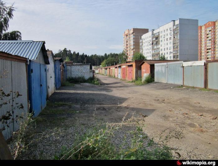 Московская область гаражи