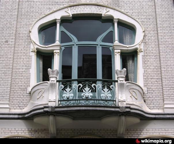 Art nouveau house style