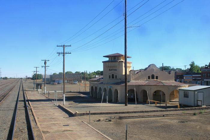 Raton (NM) United States  City new picture : Amtrak Raton, NM Station Raton, New Mexico