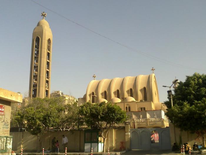 St.Mary and St.Atrahansius Nasr City كنيسه العدرا و الانبا اثناسيوس مدينه نصر