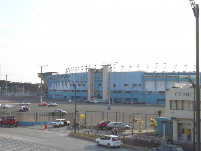 Estadio modelo alberto spencer guayaquil for Modelos guayaquil