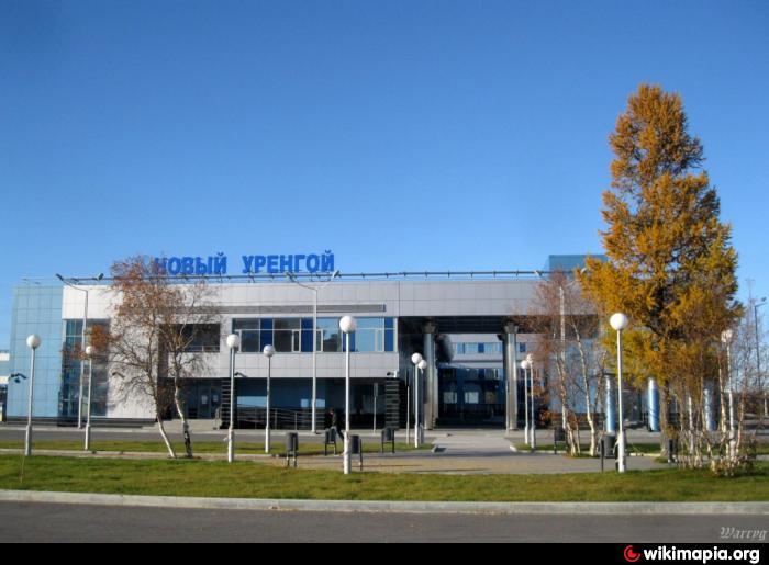 Строящийся Железнодорожный вокзал - Новый Уренгой