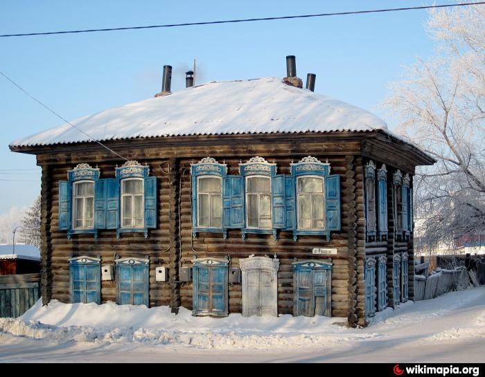 фото тобольск деревянные дома