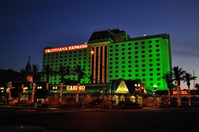 tropicana express hotel & casino