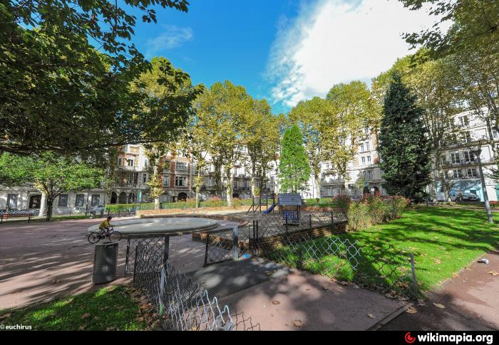 Saint-Etienne France  city photos gallery : Jardin Anatole France Saint Étienne