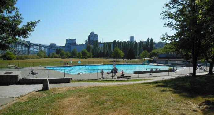 New Brighton Pool Vancouver