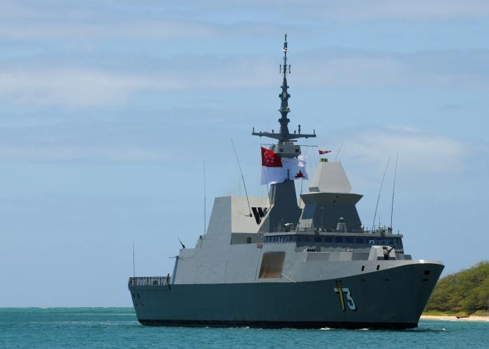 チャンギ海軍基地 シンガポール