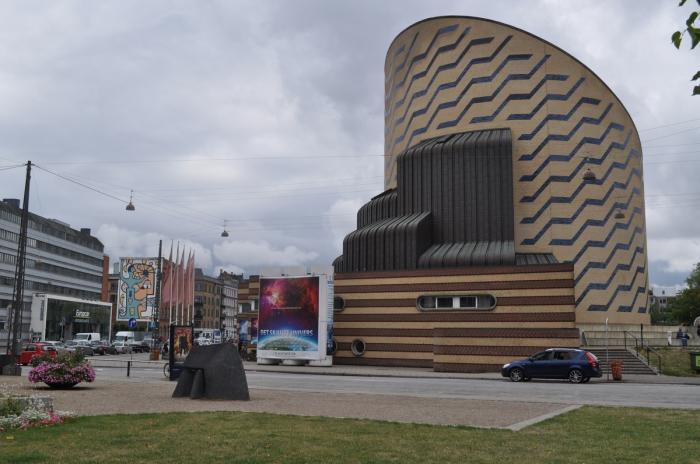 fremhævet brystkirtel Planetarium København