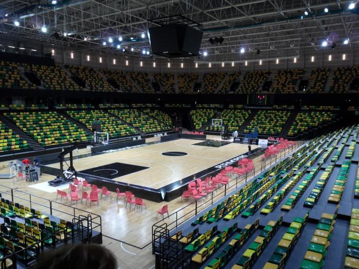 Pabell n de deportes bilbao arena bilbao - Pabellon de deportes de madrid ...