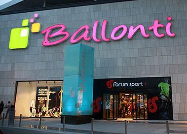 C c ballonti for Gimnasio ballonti