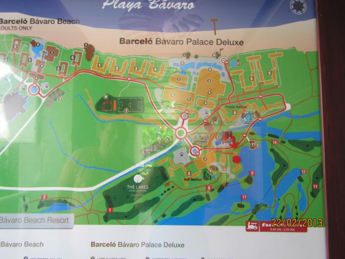 barcelo bavaro palace deluxe map pdf
