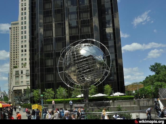 Globe Of Trump International Hotel And Tower New York