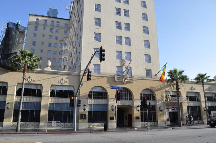 Hollywood roosevelt hotel los angeles california for Hotels 90028