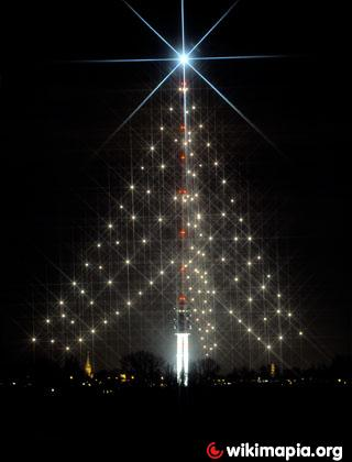 worlds largest christmas tree gerbrandy tower - Largest Christmas Tree