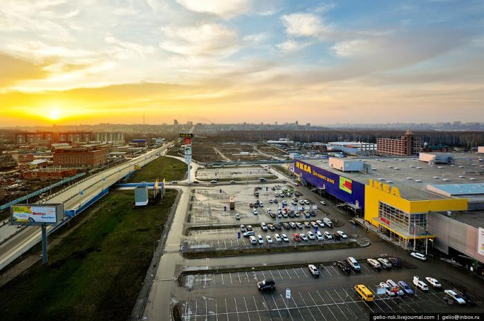 Торговый центр мега новосибирск
