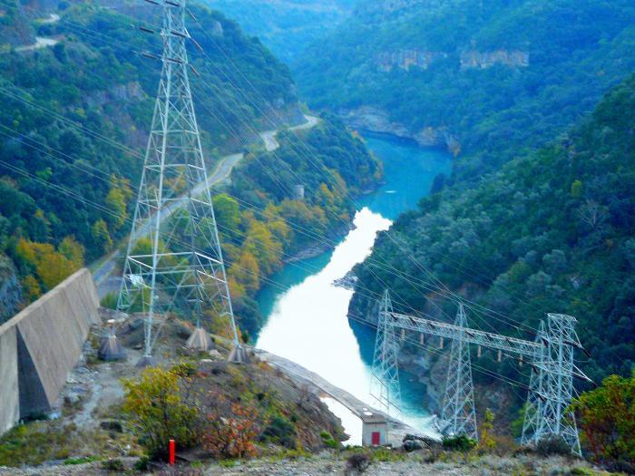 Αποτέλεσμα εικόνας για Ο Υδροηλεκτρικός Σταθμός Κρεμαστών