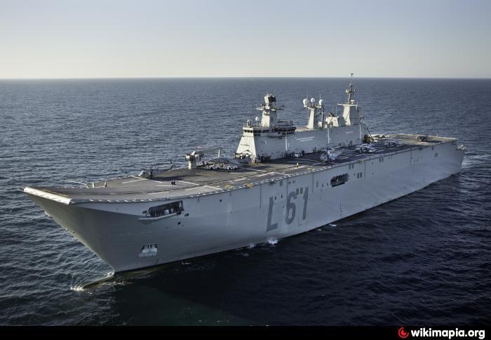 SPS Juan Carlos I (L61)Spanish Aircraft Carrier Juan Carlos