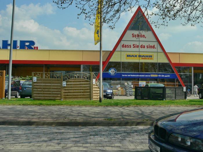 Max bahr baumarkt hannover for Baumarkt hildesheim