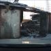 Разрушенные гаражи в городе Тюмень