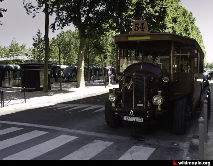 Arr U00eat De Tram - Quinconce  Interconnexion B Et C