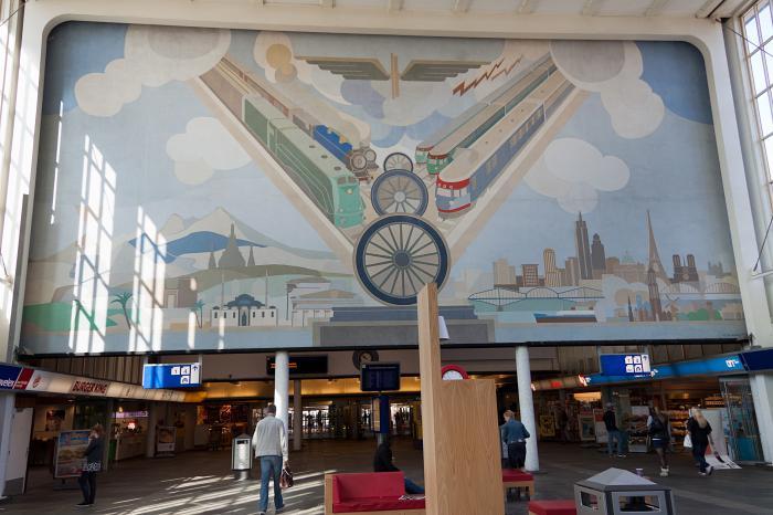 Amsterdam Amstel Railway Station Amsterdam