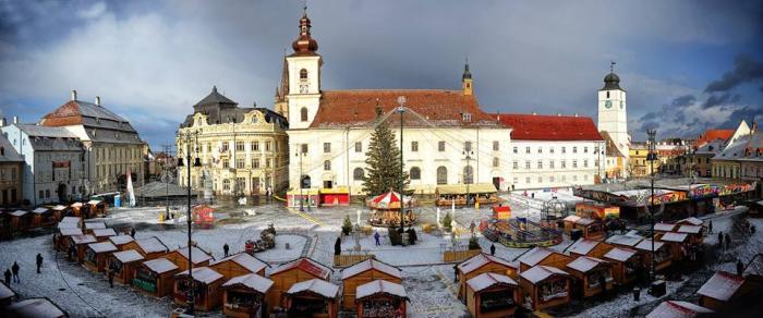 File:Sibiu (Hermannstadt, Nagyszeben) - Large Square ...  |Hermannstadt