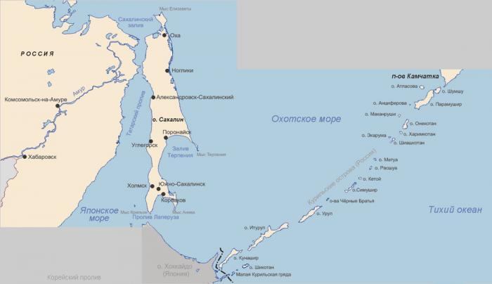 Strait of Tartary | strait / channel / passage / narrows