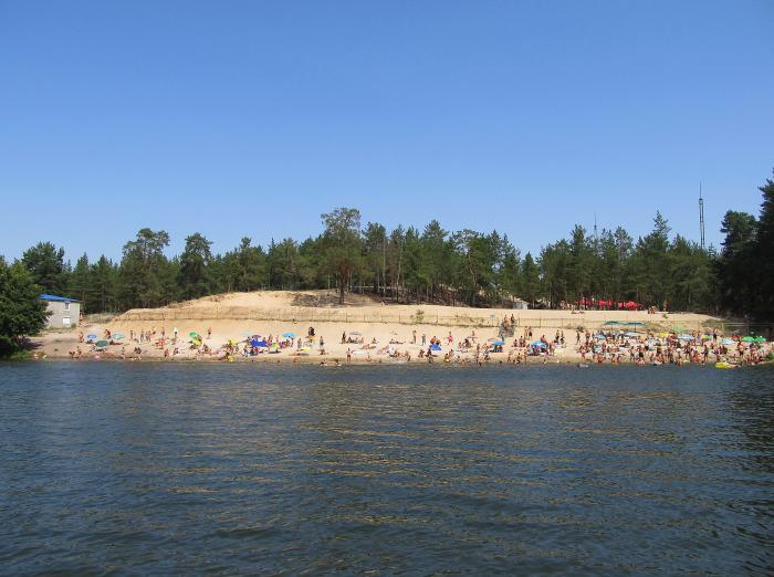 Пляж в шебекино фото
