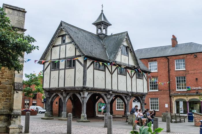Tudor Architecture old grammar school - market harborough | wooden, tudor