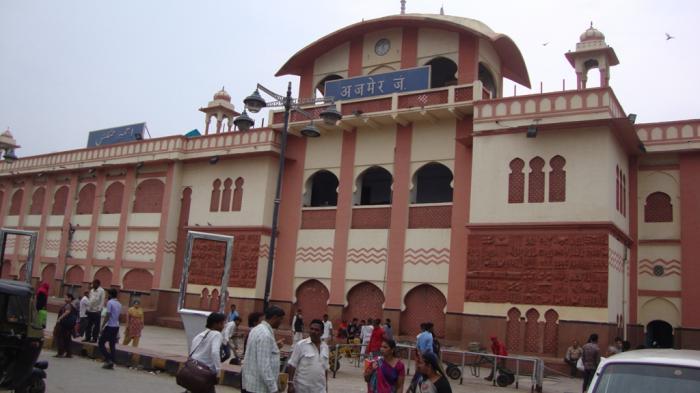 railway station ajmer   ajmer