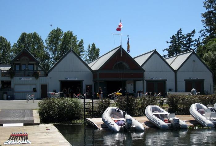 Elk Lake Boathouse