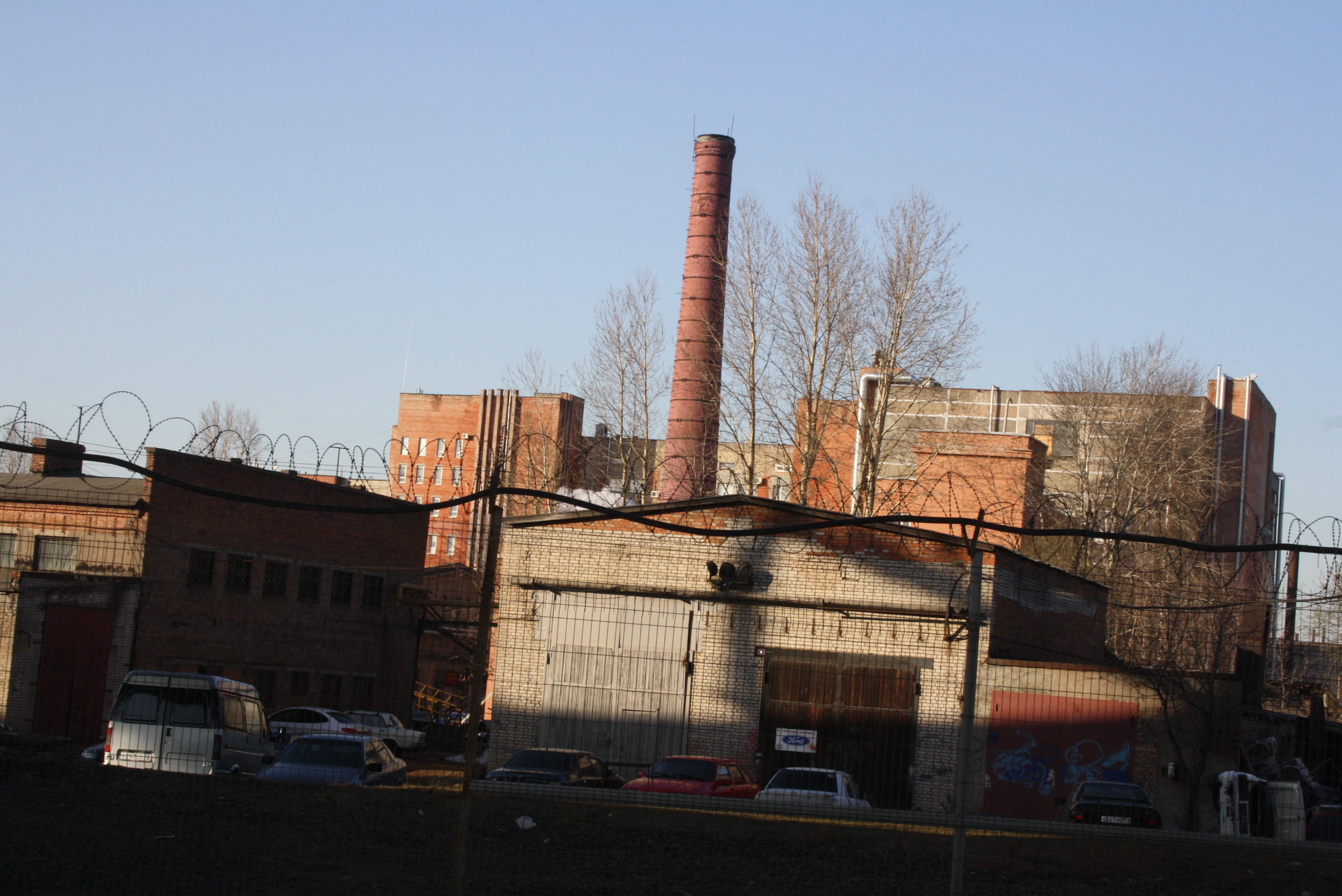Kirovsky plant revised construction of the foundry 100