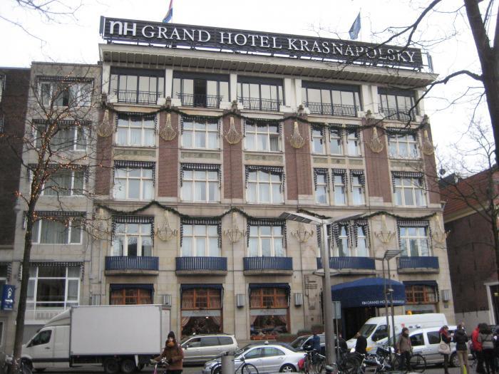 Nh collection amsterdam grand hotel krasnapolsky amsterdam for Nh hotel amsterdam