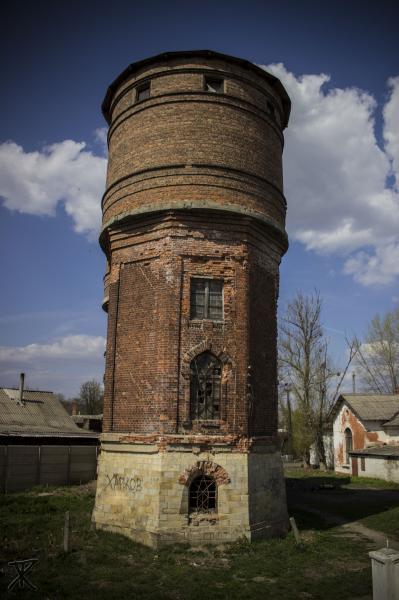 Г шебекино водонапорная башня