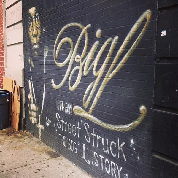 Big L Memorial Mural New York City New York